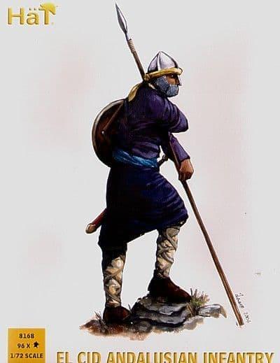 Hat 1/72 El Cid Andalusian Infantry # 8168