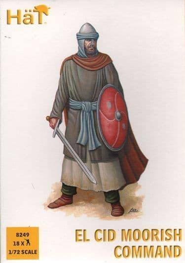 Hat 1/72 El Cid Moorish Command # 8249