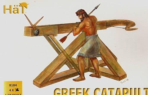 Hat 1/72 Greek Catapults # 8184