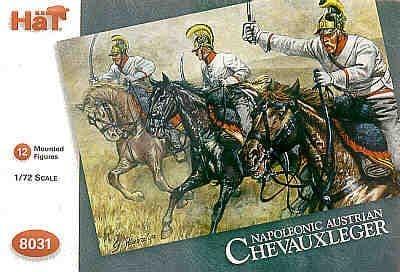 Hat 1/72 Napoleonic Austrian Chevauxleger # 8031