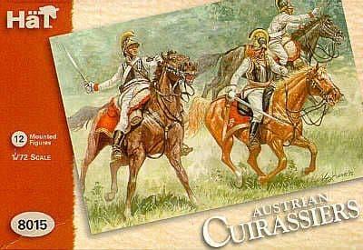 Hat 1/72 Napoleonic Austrian Cuirassiers # 8015