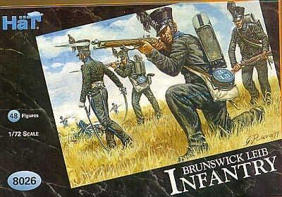 Hat 1/72 Napoleonic Brunswick Leib Infantry # 8026