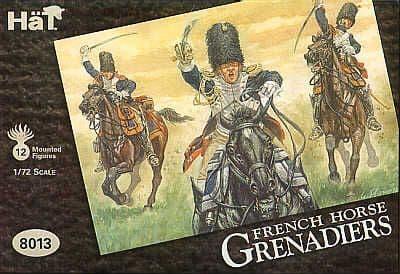 Hat 1/72 Napoleonic French Horse Grenadiers # 8013
