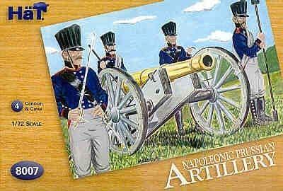 Hat 1/72 Napoleonic Prussian Artillery # 8007