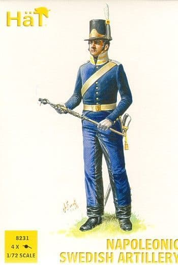 Hat 1/72 Napoleonic Swedish Artillery # 8231