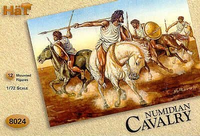 Hat 1/72 Numidian Cavalry # 8024