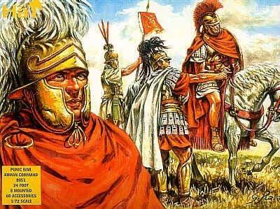 Hat 1/72 Punic War Roman Command # 8051