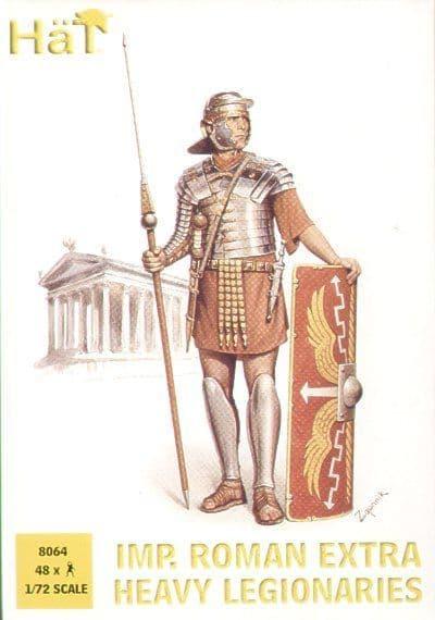 Hat 1/72 Roman Heavy Legionaries # 8064