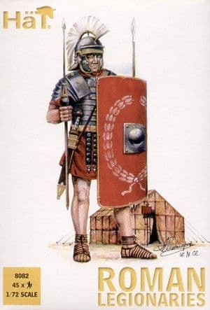 Hat 1/72 Roman Legionaires # 8082