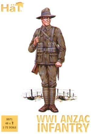 Hat 1/72 WWI ANZAC Infantry # 8071