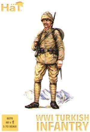 Hat 1/72 WWI Turkish Infantry # 8070