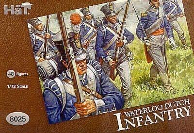 Hat 1/72 Waterloo Dutch Infantry # 8025