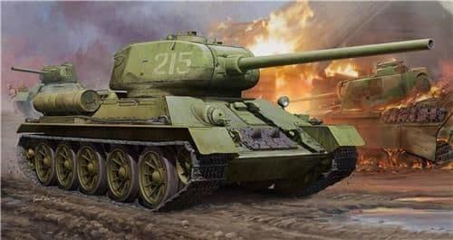 HobbyBoss 1/16 T34/85 Tank # 82602