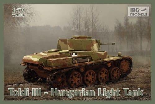 IBG 1/72 Toldi III Hungarian Light Tank # 72030