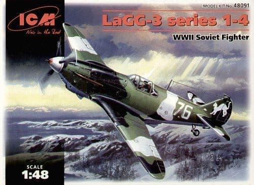 ICM 1/48 LaGG-3 Series 1-4 # 48091