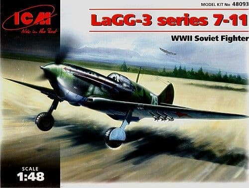 ICM 1/48 LaGG-3 series 7-11 # 48093