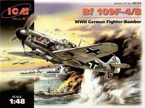 ICM 1/48 Messerschmitt Bf109F-4/B # 48104