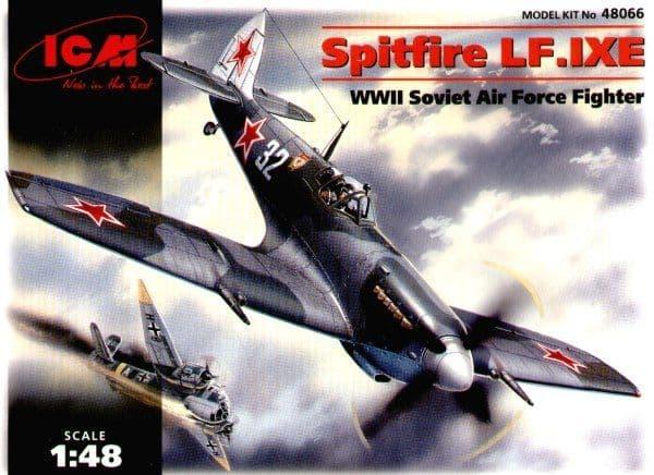 ICM 1/48 Supermarine Spitfire LF.IXE # 48066