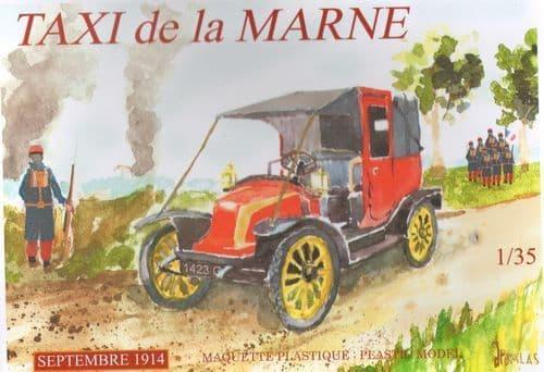Mach 2 1/35 Taxi De La Marne September 1914 # AR08