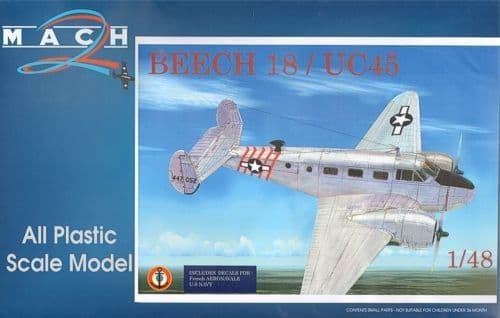 Mach 2 1/48 Beechcraft 18 UC45 / SNB5 # LS01