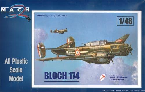 Mach 2 1/48 Marcel-Bloch MB.174 # LS02