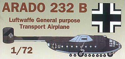Mach 2 1/72 Arado Ar-232B # 0772