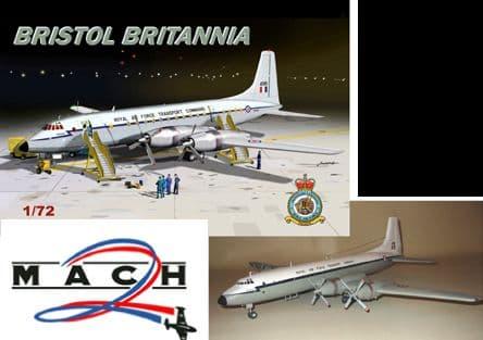 Mach 2 1/72 Bristol Britannia RAF Version # GP087
