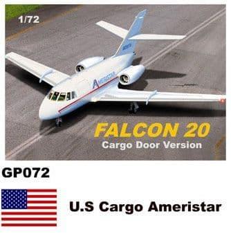 Mach 2 1/72 Dassault-Mystere Falcon 20 Cargo Door Version # GP072