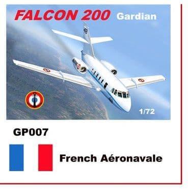 Mach 2 1/72 Dassault-Mystere Falcon 20 # GP007