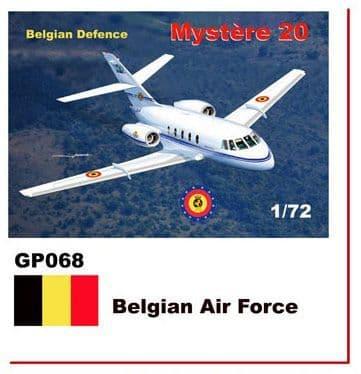 Mach 2 1/72 Dassault-Mystere Falcon 20 # GP068