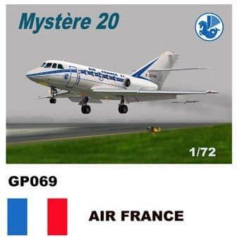 Mach 2 1/72 Dassault-Mystere Falcon 20 # GP069