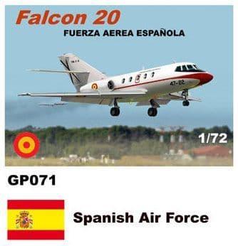 Mach 2 1/72 Dassault-Mystere Falcon 20 # GP071