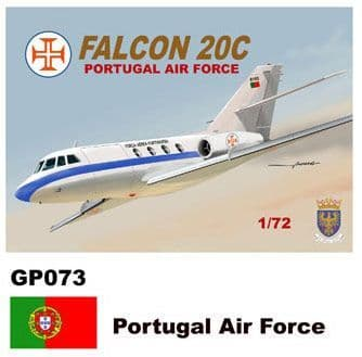Mach 2 1/72 Dassault-Mystere Falcon 20 # GP073