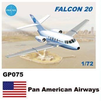 Mach 2 1/72 Dassault-Mystere Falcon 20 # GP075