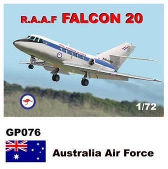 Mach 2 1/72 Dassault-Mystere Falcon 20 # GP076
