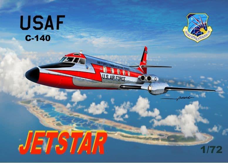 Mach 2 1/72 Lockheed C-140A Jetstar USAF # GP094