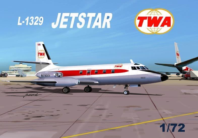 Mach 2 1/72 Lockheed L-1342 Jetstar TWA # GP090