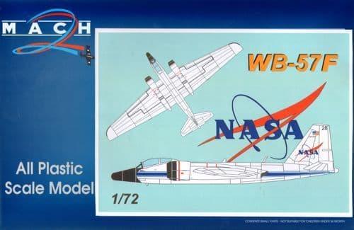 Mach 2 1/72 Martin WB-57F NASA # 7263