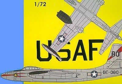 Mach 2 1/72 North-American B-45A/B RB-45C Tornado # 1072