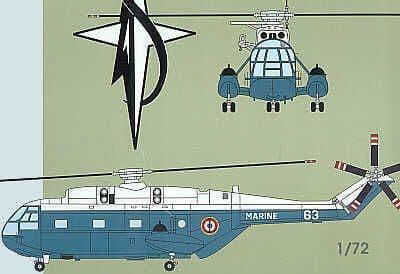 Mach 2 1/72 SA 321 Super Frelon Helicopter # 1972?