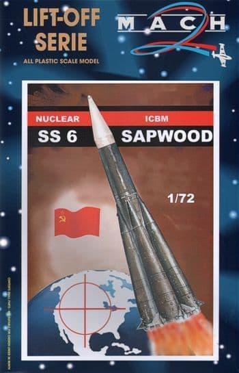Mach 2 1/72 SS6 Sapwood Nuclear ICBM # L015