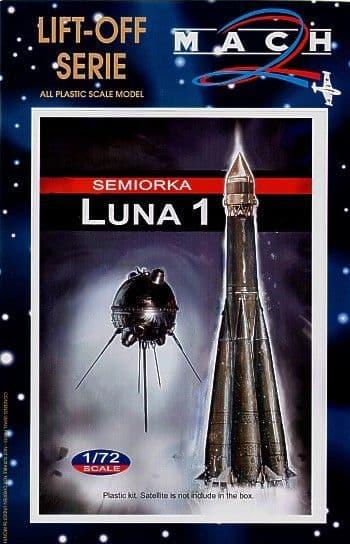 Mach 2 1/72 Semiorka Luna 1 Moon Probe # L012