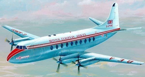Mach 2 1/72 Vickers Viscount 700 # 7246