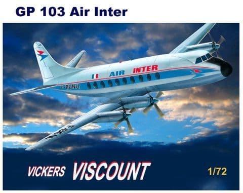 Mach 2 1/72 Vickers Viscount 700 - Air Inter # GP103