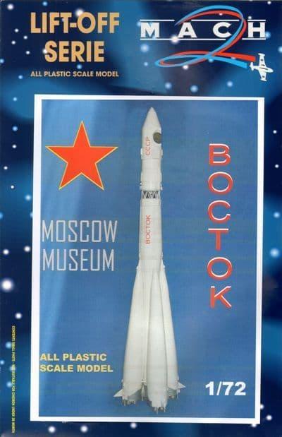 Mach 2 1/72 Vostok Moscow Museum/Paris Air Show 1967 # L018