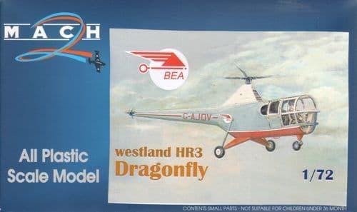 Mach 2 1/72 Westland HR.3 Dragonfly BEA G-AJOV # 7262