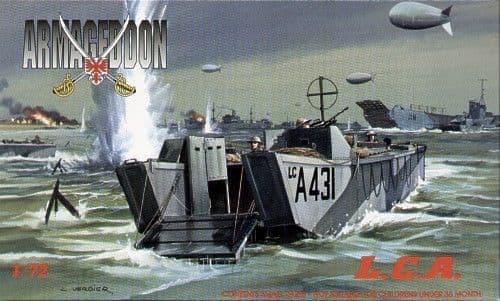 Mach 2 Armageddon 1/72 British L.C.A. Landing Craft # AR03