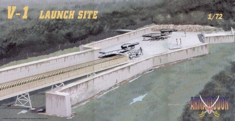 Mach 2 Armageddon 1/72 Fieseler V-1 Rocket Launch Site # AR05