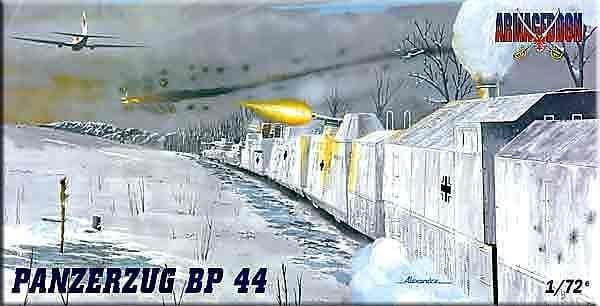 Mach 2 Armageddon 1/72 Panzerzug BP 44 # AR02