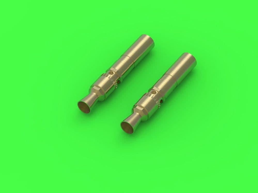 Master 1/35 MG-34 German Machine Gun Barrel Tips (Turret Mount) (2pcs) # GM-35028